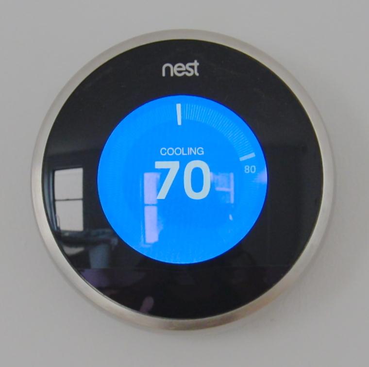 Nest thermostat apartment