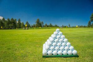 balata golf ball
