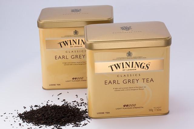 bergamot in earl grey tea