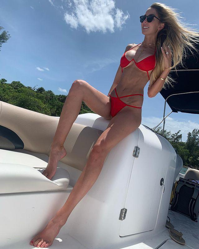 Sam Maddox hottest wife of golf